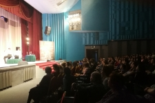 """Усть-Илимск. ДК им. И. Наймушина. Спектакль """"Евгений Онегин"""""""
